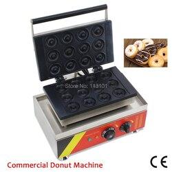 Mała maszyna do donatów ze stali nierdzewnej pączki ekspres DIY pączki producent 12 sztuk formy Brand New