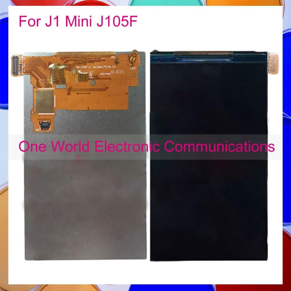 One World New For Samsung Galaxy J1 Mini J105 SM-J105F J105Y J105B J105M/DS Phone LCD Display Screen Tracking Code Free Shipping