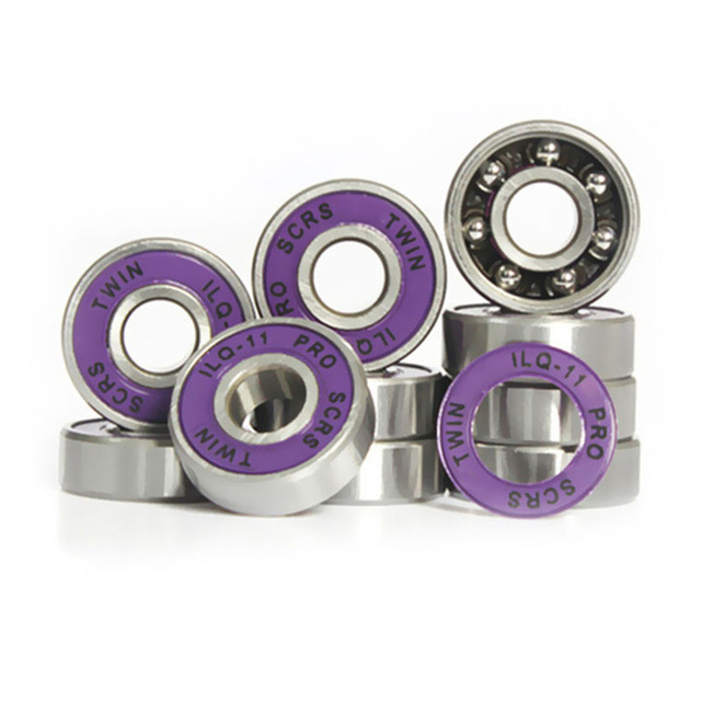 Japy Skate 16 Pieces Free Shipping ILQ-11 Miniature Ball Radial Ball Bearings Good Quality Skating Bearings ABEC-11