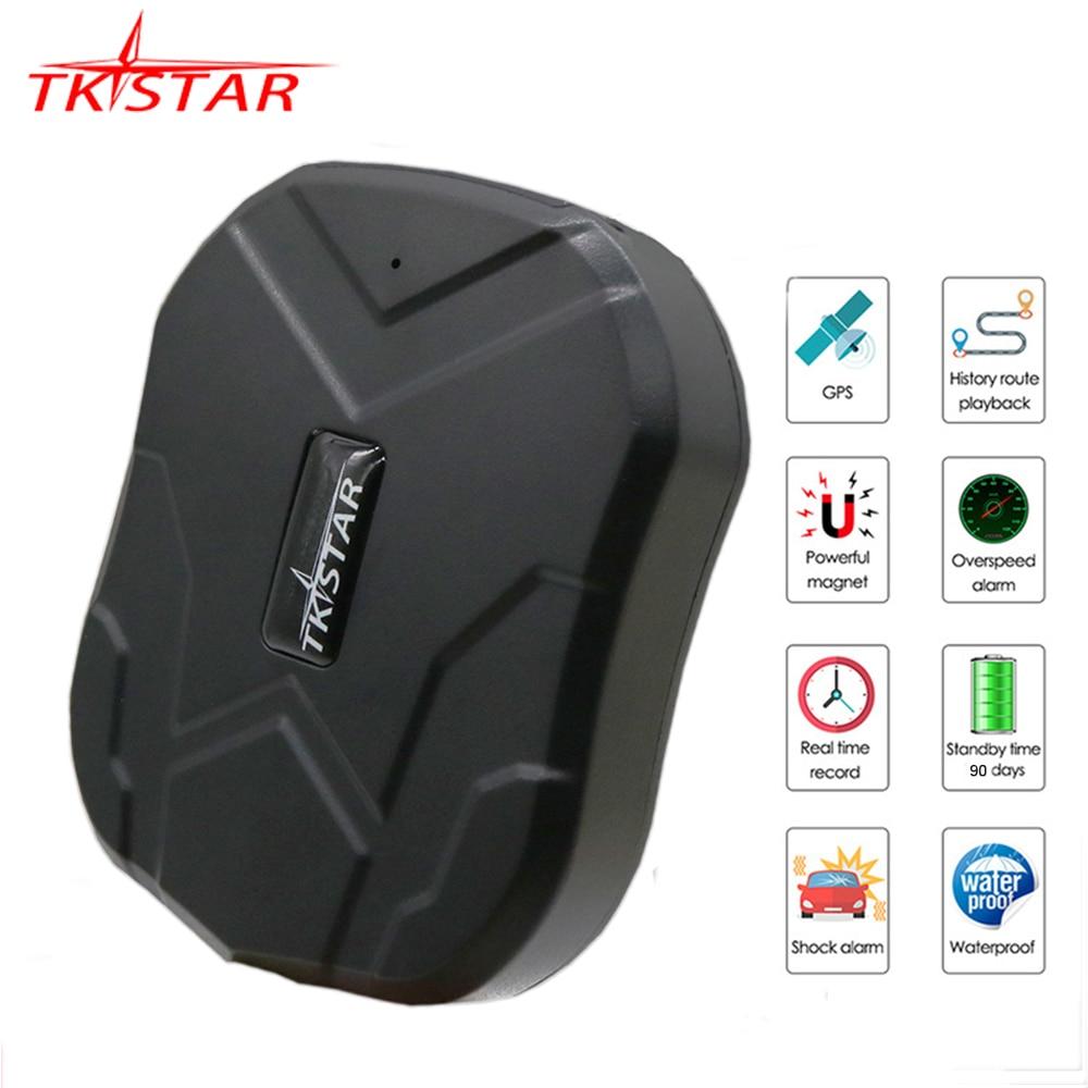 GPS Tracker voiture 90 jours veille TKSTAR TK905 GPS localisateur étanche GPS Tracker Auto aimant voix moniteur gratuit Web APP PK TK915