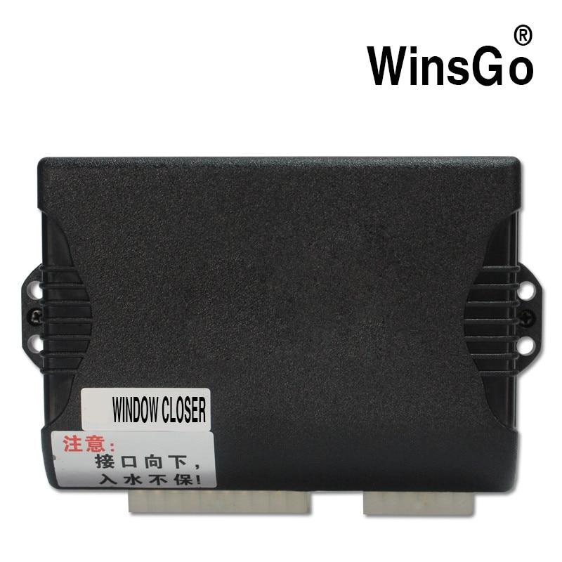 WINSGO Auto envío gratis + accesorios para el automóvil Cierre de la ventana eléctrica y Pausa abierta en el kit a mitad de camino para Nissan Qashqai 2014-2018