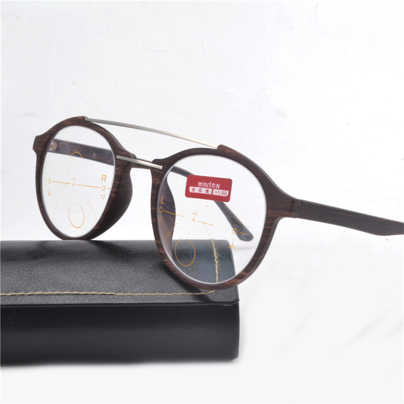 d1c7a56f0d4 Progressive Multifocal Reading Glasses Bifocal Reading Eyeglasses See Near  And Far Eyewear Women Men Diopter with box FML-in Reading Glasses from  Apparel ...