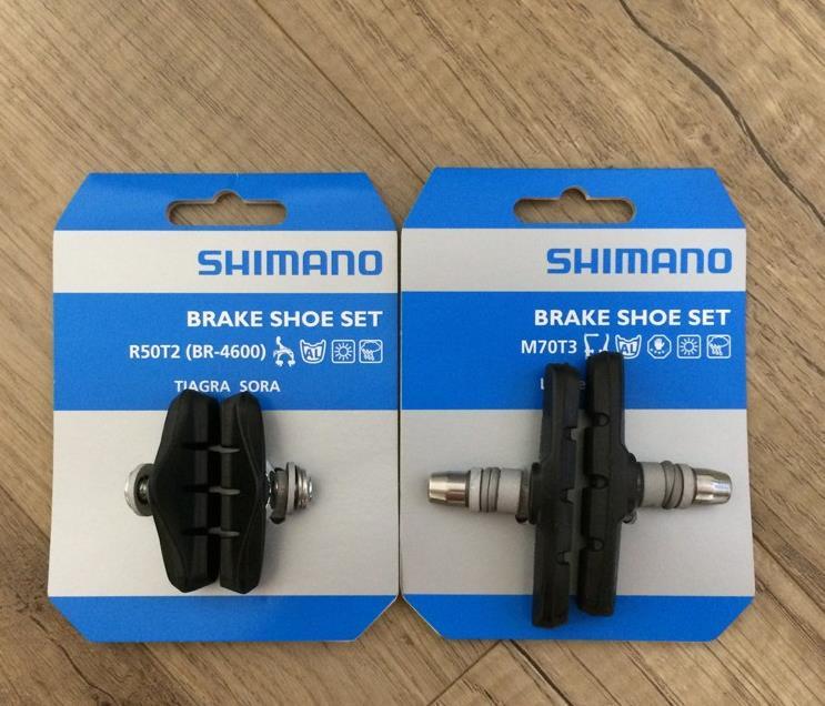 SHIMANO M70T3---DEORE--LX LINEAR BRAKE BLACK BICYCLE BRAKE PADS