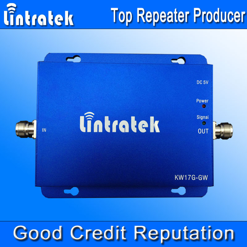 Lintratek Dual Band Signal Repeater GSM 900MHz UMTS 2100MHz Cell Phone Signal Booster GSM Amplifier GSM