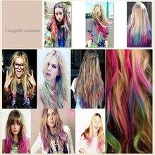 Fashion Design Crayons Hair Color Mascara Dye Hair Color Chalk With Comb Temporary Hair Mascara Multicolor Dye #715