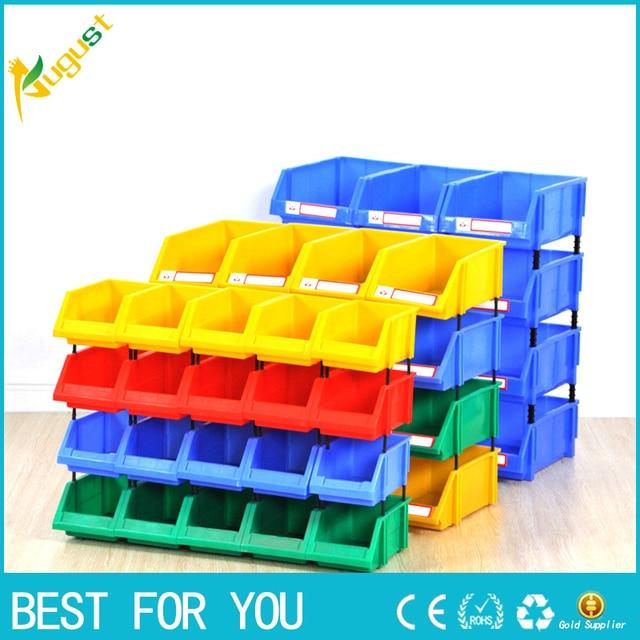 plastic part box classify storage box bin in ecommerce warehouse x4