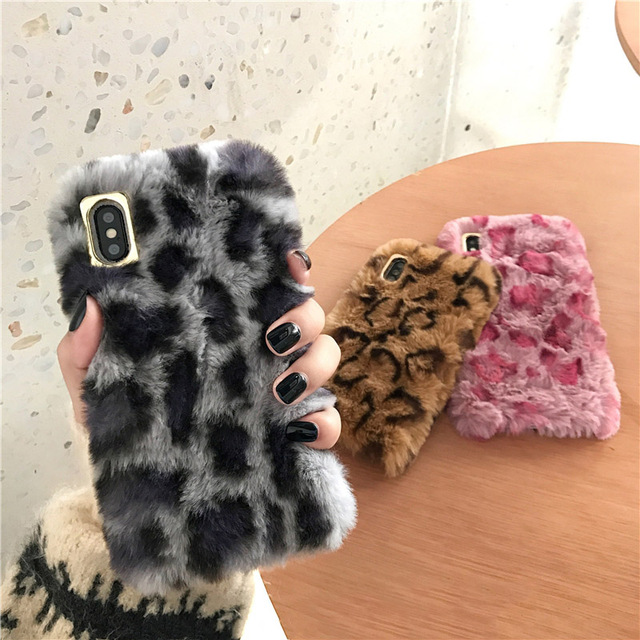 fuzzy iphone 7 plus case