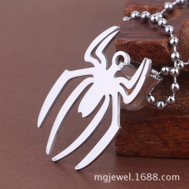 Spider-Man – Steel Chain Spider Man Pendant