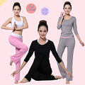 clothes suit Spring was thin modal clothes clothing three-piece suit Long-sleeved dance