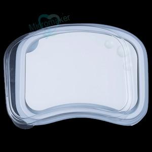 Image 2 - Nowy 1PC laboratorium dentystyczne paleta ceramiczna porcelana mieszanie podlewanie płyta mokra taca
