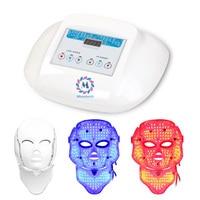 Red Blue Purple LED Light Therapy Skin Mask LED Skin Rejuvenation Beauty Mask LED Skin Care
