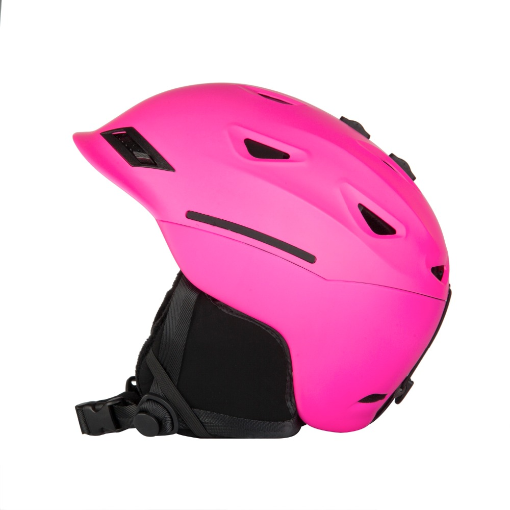 Winter Warm Helmet White Pink Green 2017 Hot Sale Ski Professional Adult Ski Helmet Man Women Skating Skateboard Snowboard 2016 hot sale abs five color factory supply adult ski skate helmet skateboard skiing helmets