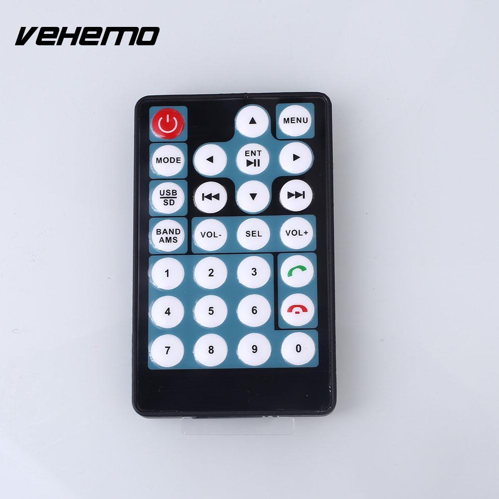 VEHEMO 2 Din 7Inch Car Stying HD Touch Screen Car Auto Automobile FM Radio Bluetooth Handsfree