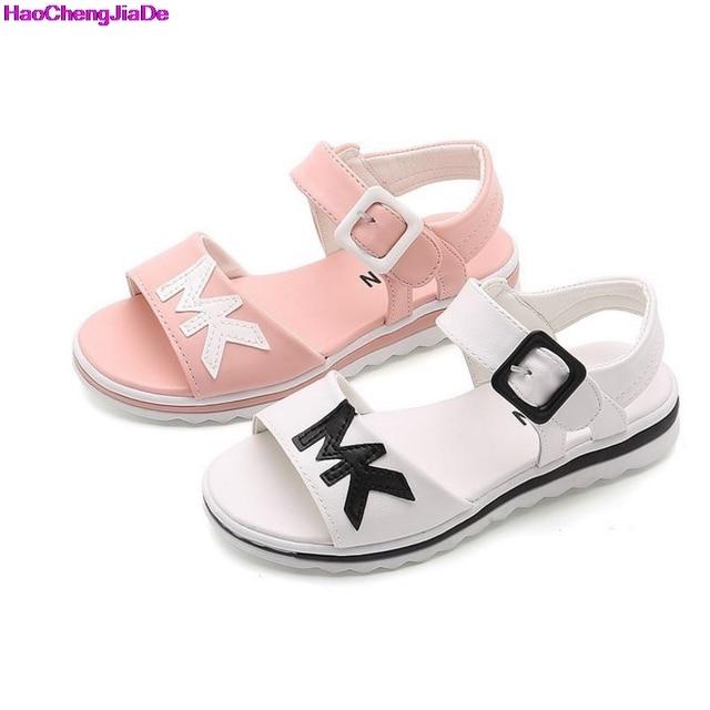 HaoChengJiaDe Sandals For Girls New Style Fashion Baby Shoes Girl Sandals  Princess Girls Sandals Girl Summer Nubuck Dancing shoe bd2c3322e8e1
