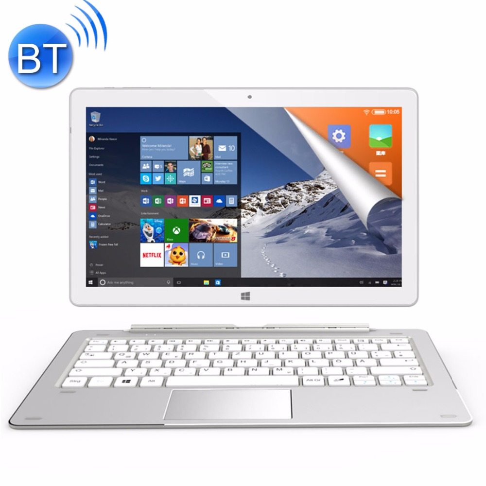 ALLDOCUBE iWork10 Pro Tablet 10.1 inch 4GB RAM 64GB ROM Windows 10 Android 5.1 Dual System Intel Atom X5-Z8350 Quad-core HDMI beelink z83 mini intel atom x5 z8350 quad core 4k 64 bit support windows 10 system and linux system 10 2 4g 5 8g wifi bt4 0