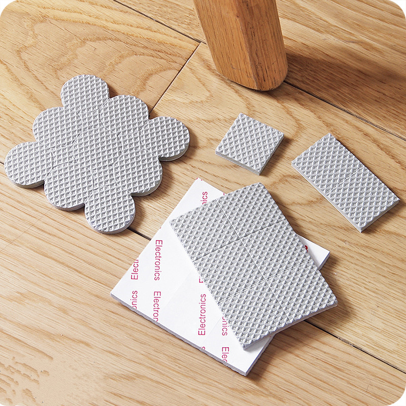 Thick Self-adhesive  Furniture Leg Feet Protector DIY Cutting Sofa Chair Leg Table  Pad  Anti-Slip Mat Furniture Accessories