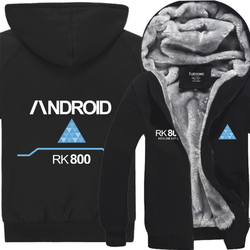 [STOCK]Hot Sale Hight Quality Autumn And Winter Jackets Game Detroit Become Human Connor RK800 cosplay costume Unisex Coat