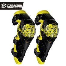 Cuirassier Protective Kneepad Motorcycle Knee pads Off-Road Protector Scooter Motor Racing Elbow Guards Safety MX Racing Brace
