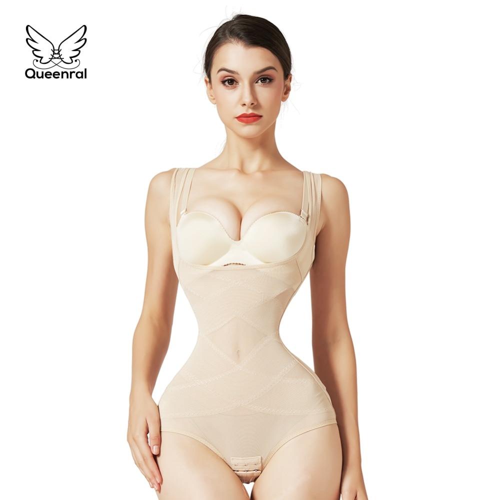 Women Elastic Slimming Belt Slim Waist Corset Bodysuit Trainner Modeling Strap