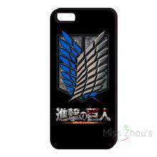 Attack On Titan Logo Black Iphone Cover Case
