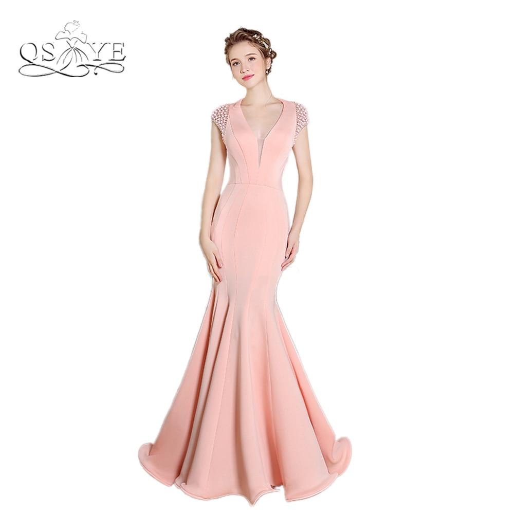 Asombroso Vestido De Fiesta Rosa Sirena Imagen - Ideas de Vestido ...