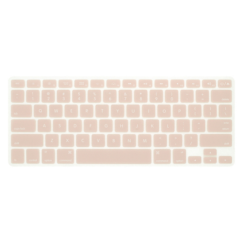 Silicone Keyboard Cover Protector Skin for Apple Macbook Pro MAC 13 15 Air 13 Soft keyboard stickers 9 Colors-1