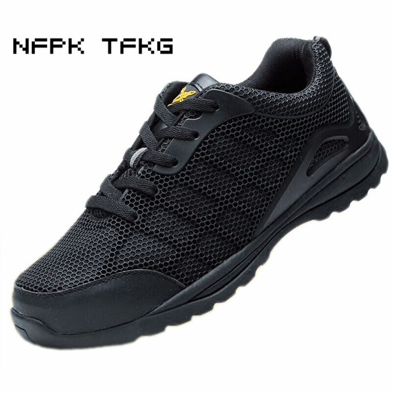 large size 45 46 breathable mesh steel toe caps work safety shoes plate platform tooling ankle boots protective footwear lace-up barrow g1 4 female thread straight docking seat tube extend 7 5mm computer water cooling fitting tnyz g7 5