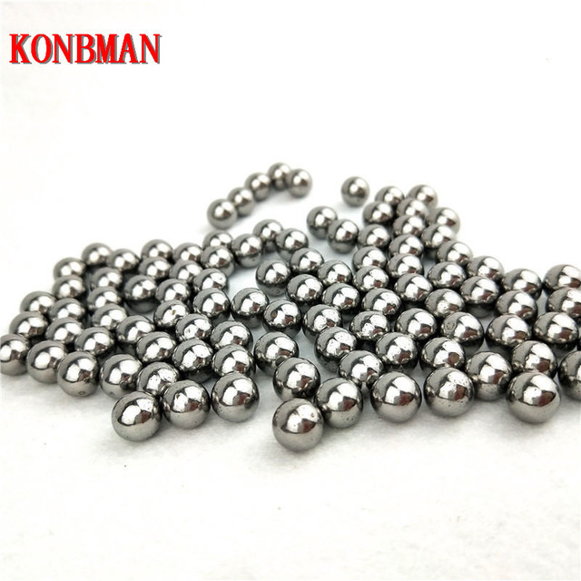Shooting Steel Balls 5mm 6mm 7mm 8mm 9mm 10mm 11mm Hunting Slingshot Stainless AMMO outdoor wholesale 100pcs/lot 5