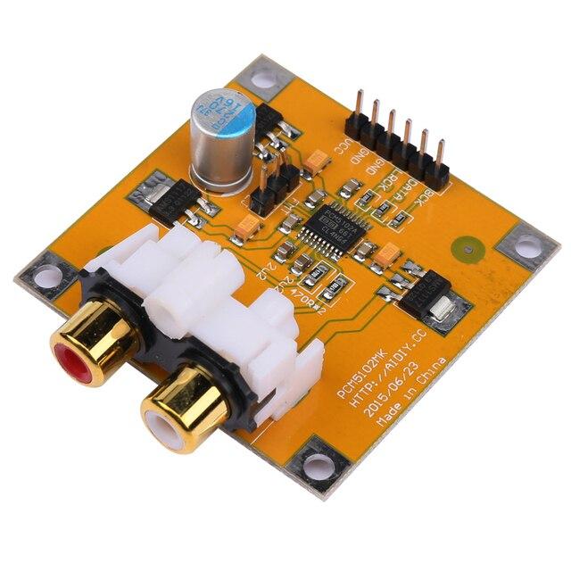 PCM5102/PCM5102A декодер DAC доска I2S 32Bit 384 K для Raspberry Pi красный основной игрок