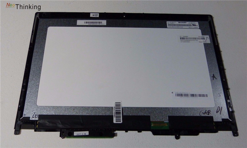 все цены на NeoThinking Lcd Assembly  For Lenovo Yoga 370-13 Touch Screen Digitizer Replacement free shipping онлайн