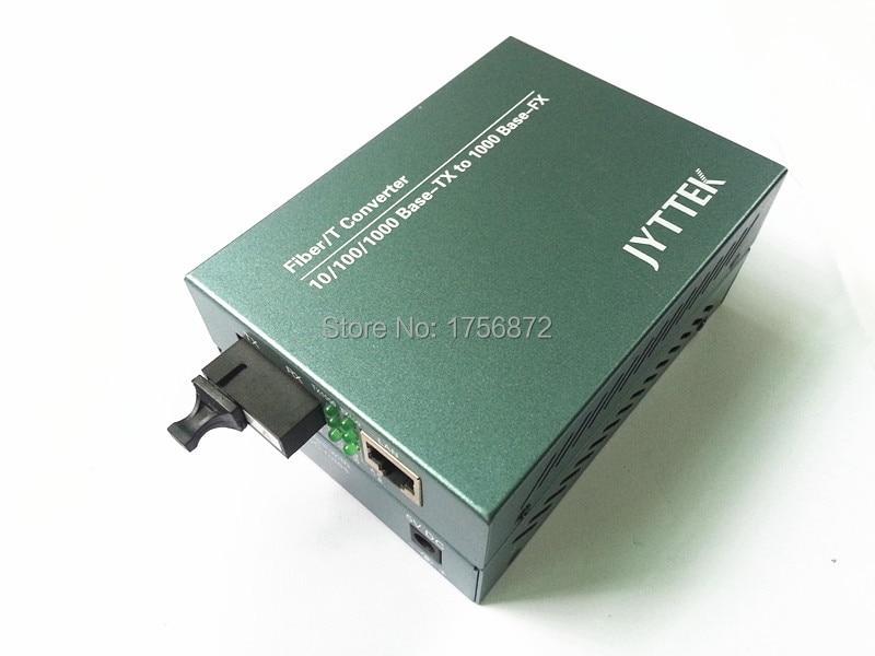Gigabit Single-mode single-fiber fiber media converter optical transceiver RJ-45 1000M Ethernet Telecom Grade 1 pair 1 ChannelGigabit Single-mode single-fiber fiber media converter optical transceiver RJ-45 1000M Ethernet Telecom Grade 1 pair 1 Channel