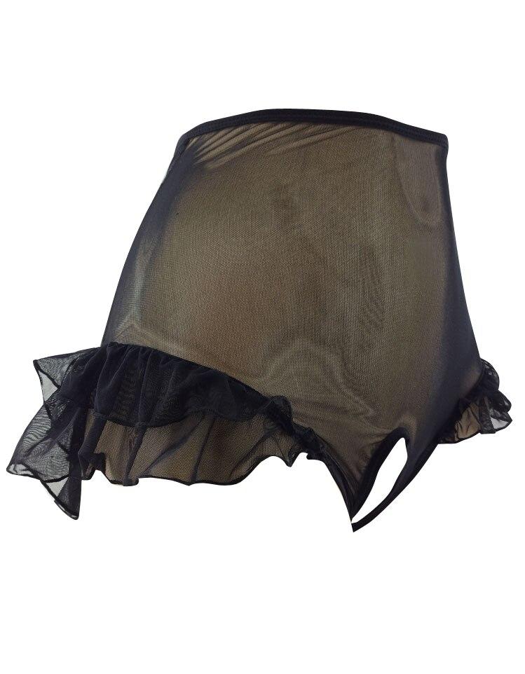 Sissy panties pouch men shorts mesh lace men underwear gay underwear men thong sexy penis tanga
