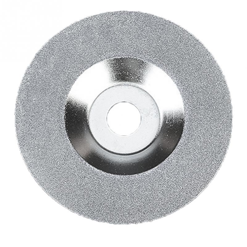 100mm 4/'/' Glass Stone Grinding Cutting Tool Diamond Coated Flat Wheel Disc S6