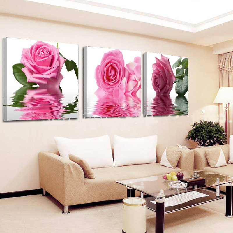 Orchid Wall Painting Flower Canvas Painting Home Decoration Pictures ...