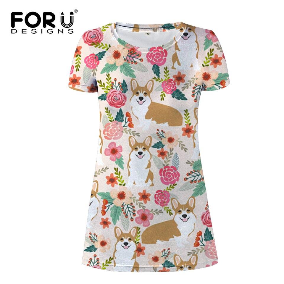 FORUDESIGNS Corgi Kawaii Dress UK Clothing Dresses for Women