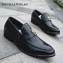 Men Oxfords Leather Shoes Luxury Brand Men BroguesMens Formal Dress Office Wedding Shoes Flats Men Oxford Shoes Zapatos Hombre