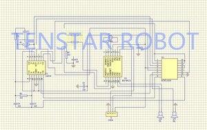 Image 4 - شحن مجاني 100 قطعة وحدة أشعة فوق الصوتية HC SR04 قياس المسافة محول الاستشعار