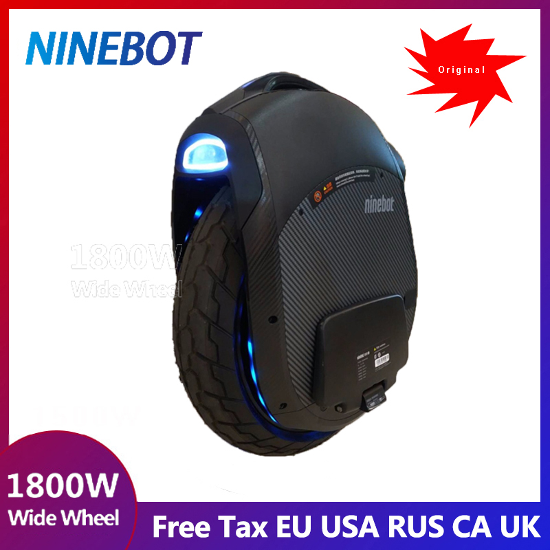 2019 Newest Ninebot One Z10 Electric unicycle motor1800W,1000WH,max speed 45km/h,Single wheel balance car Off-road APP community