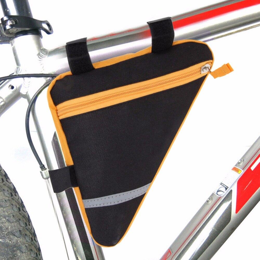 3 Farben MTB Rennrad Sattel Im Freien Wasserdichte Nylon Triangle ...
