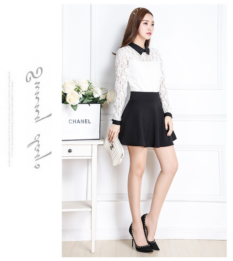 94380b5ca New Style A-Line Skirt Women Short Skirts Summer and Spring Pleated Skirt  Womens Maternity Skirt with Pocket Falda. -2 01 02 03 04 ...