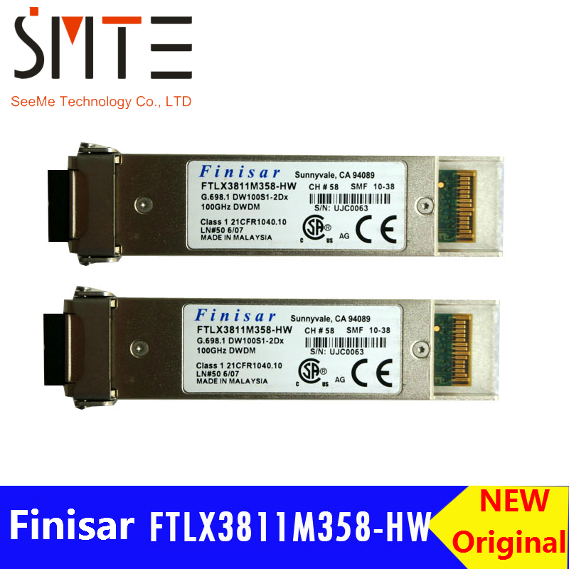 Original XFP10GLR-192SR-L G.698.1 DW100S1-2Dx 100GHz DWDM UJC0063 SMF fiber optical transceiverOriginal XFP10GLR-192SR-L G.698.1 DW100S1-2Dx 100GHz DWDM UJC0063 SMF fiber optical transceiver