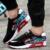 2016 Moda Hombres Zapatos Casual Otoño del Resorte Del Ocio Del Mens Entrenadores Pisos Transpirables Zapatos Para Caminar zapatillas hombre 39-44