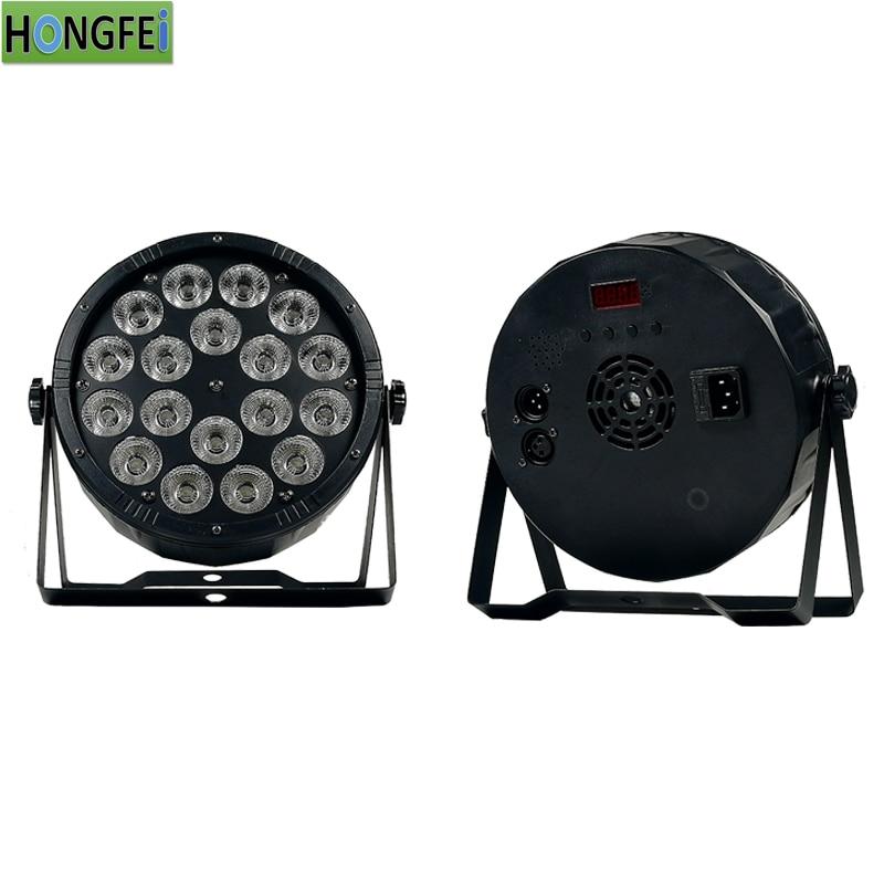 18X12W led par lights disco lights dmx512control RGBW 4in1 par led professional DJ equipment