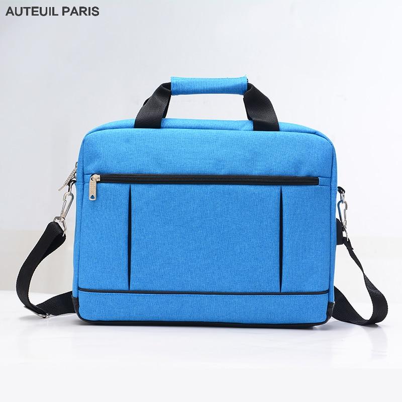 Auteuil Paris Men Briefcase High Quality Laptop Bag Unisex Briefcases Usb Charging Handbag Maletin Hombre Interior Slot Pocket
