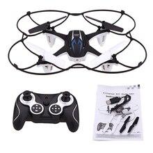 Niños mini rc drone con 2.0mp hd cámara quadcopter quadrocopter toys 2.4 ghz de control remoto giroscopio de 6 ejes para la formación aviones no tripulados