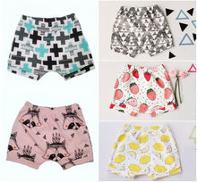 1-4 years old kids Lantern  Pattern Print Shorts Infant Baby Girls Bottoms  Summer Hot  Shorts