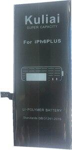 Image 4 - Kuliai טלפון סוללה עבור iPhone 6 6 S בתוספת 6 בתוספת 6 SPlus 7 iPhone6 החלפת קיבולת גבוהה ליתיום פולימר bateria + כלים חינם