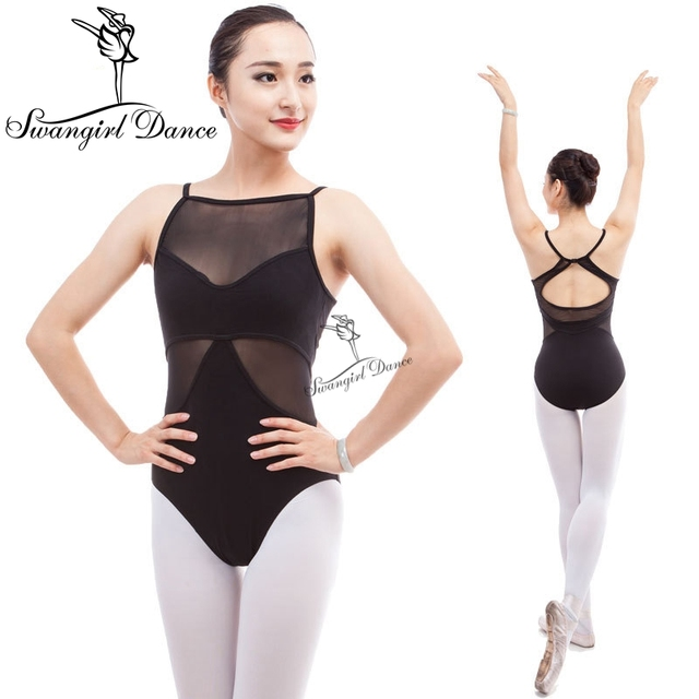 women camisole black sexy ballet Leotards for dance costume ballet clothes for girls gymnastics leotards ballerina clothesCS0300