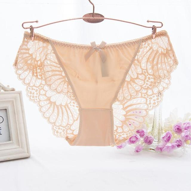 Underwear Low Waist Panties Briefs for Female Hipster Underpant 3
