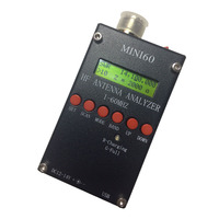 Sark100 1 60 Mhz Mini HF ANT SWR Antenna Analyzer SARK100 For Ham Radio Hobbists Home Audio Video with 3.7V Li on Battery